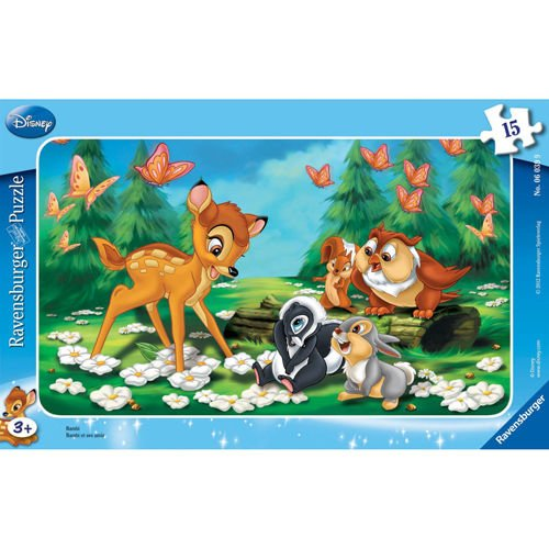 Puzzle Bambi, 15 piese